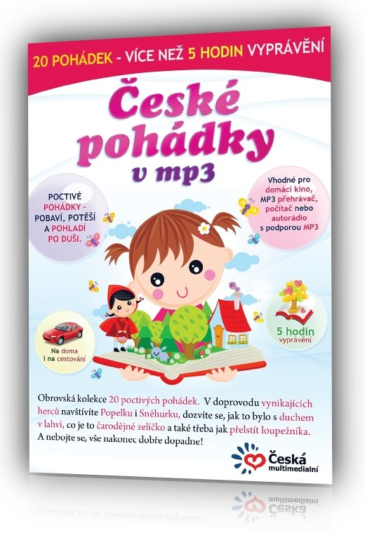 České pohádky v MP3